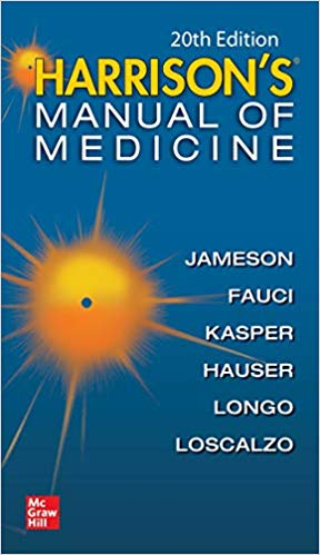 Harrisons Manual of Medicine- 20th Edition-2020